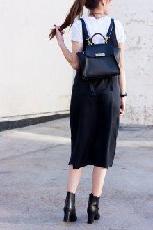 Черный рюкзак трансформер