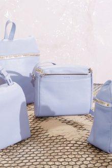 Городской рюкзак голубой