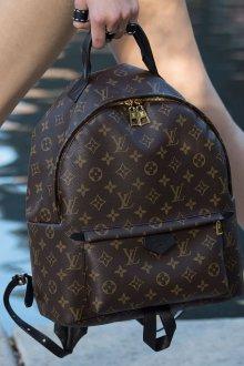 Городской рюкзак коричневый