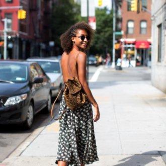 Городской рюкзак леопардовый