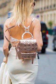 Городской рюкзак металлик