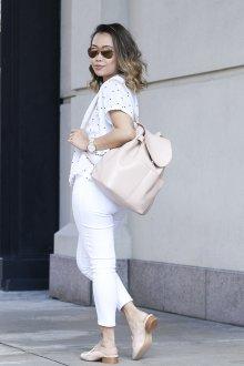 Городской рюкзак светлый