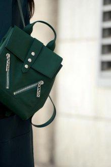 Городской рюкзак зеленый