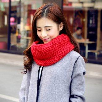 Вязаный шарф воротник