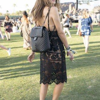 Кожаный рюкзак Chanel