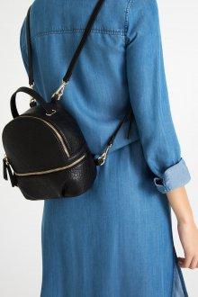 Кожаный рюкзак маленький