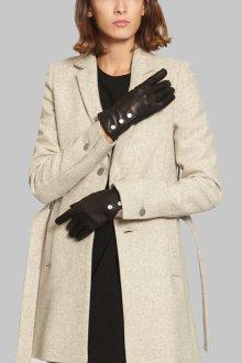 Кожаные перчатки классические