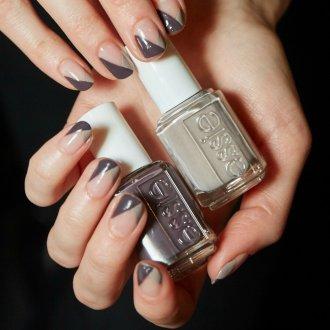 Маникюр на короткие ногти модный