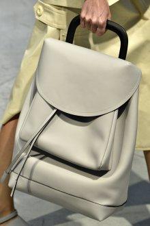 Бежевая сумка рюкзак