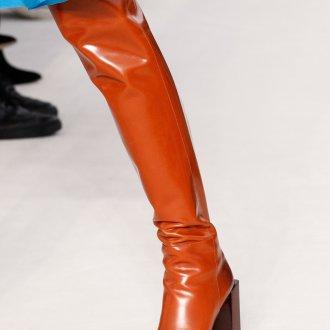 Ботфорты чулки с квадратным носком