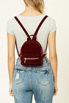 Маленький рюкзак бархатный