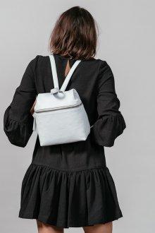 Маленький рюкзак белый