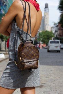 Маленький рюкзак из экокожи