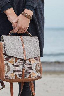 Маленький рюкзак в стиле этно