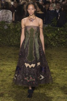 Платье с люрексом Dior 2019
