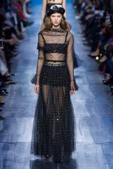 Платье с пайетками Dior 2019