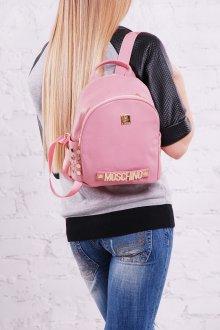 Розовый рюкзак небольшой