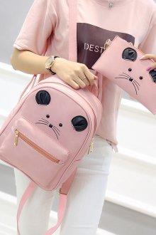 Розовый рюкзак оригинальный
