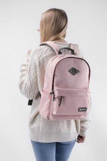 Розовый рюкзак пастельного оттенка