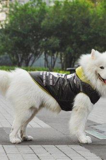Зимний комбинезон для собак с длинной шерстью
