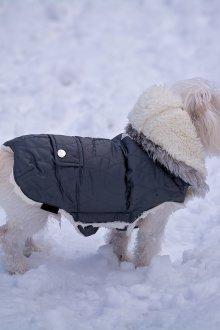 Зимний комбинезон для собак короткий