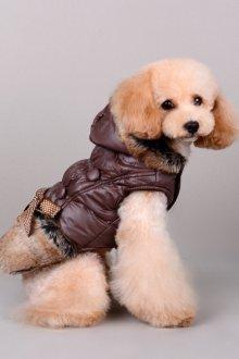 Зимний комбинезон для собак с мехом