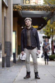 Тимберленды мужские на шнуровке