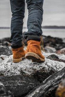Тимберленды мужские со шнурками