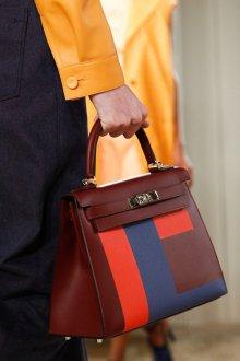 Деловая сумка с геометрическим рисунком