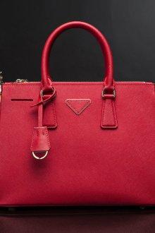 Деловая сумка красная