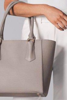 Деловая сумка серая