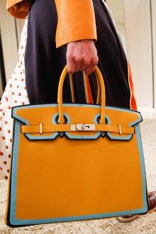 Деловая сумка женская желтая