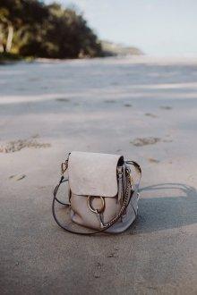 Серый рюкзак Chloe