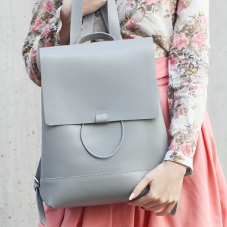 Серо-голубой рюкзак