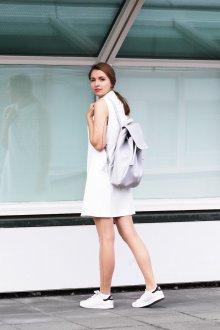 Серый рюкзак летний