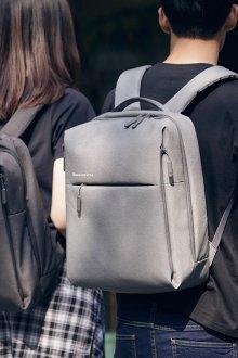 Серый рюкзак парный
