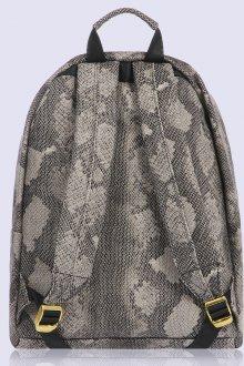 Серый рюкзак под змею
