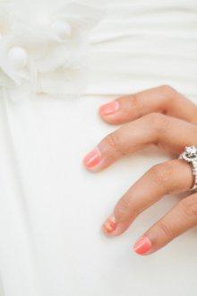 Свадебный маникюр 2019 на короткие ногти