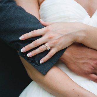 Свадебный маникюр 2019 простой