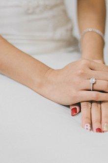 Свадебный маникюр 2019 яркий