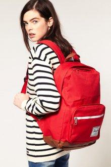 Красный рюкзак большой