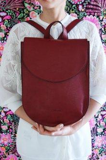 Красный рюкзак бордовый