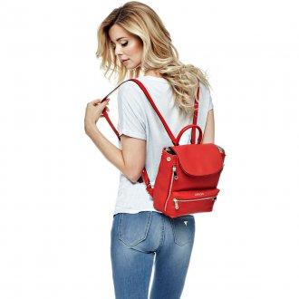 Красный рюкзак маленький