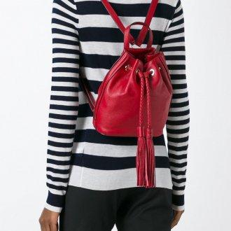 Красный рюкзак мешок