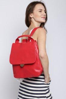 Красный рюкзак модный