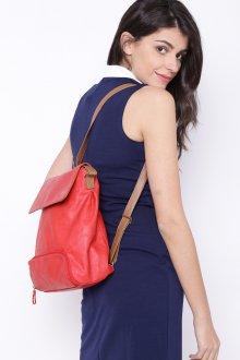 Красный рюкзак заплечный