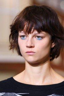 Синий макияж для брюнеток