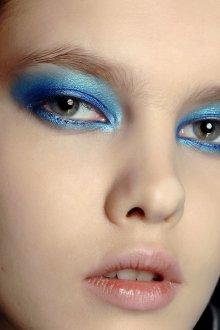 Синий макияж вечерний