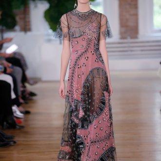 Валентино платье и бисером