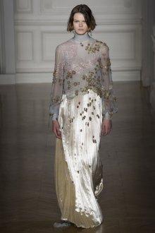 Valentino haute couture плиссированное платье